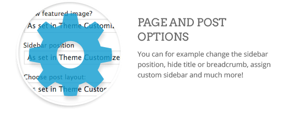 Page options  Download Clean WordPress Theme (Multi-Purpose) nulled page options