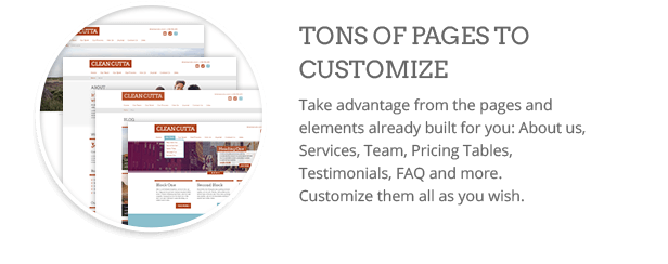Pages  Download Clean WordPress Theme (Multi-Purpose) nulled pages