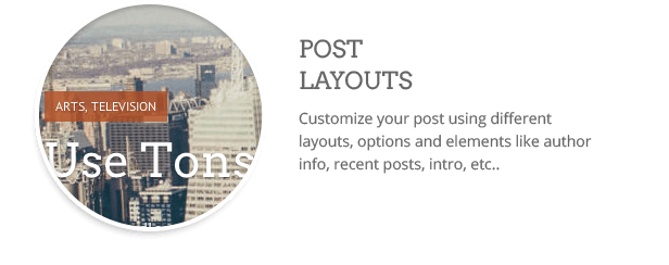 Post layouts  Download Clean WordPress Theme (Multi-Purpose) nulled post layouts