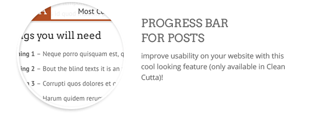 Progress bar  Download Clean WordPress Theme (Multi-Purpose) nulled progress