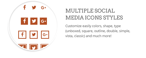 Social icons  Download Clean WordPress Theme (Multi-Purpose) nulled social