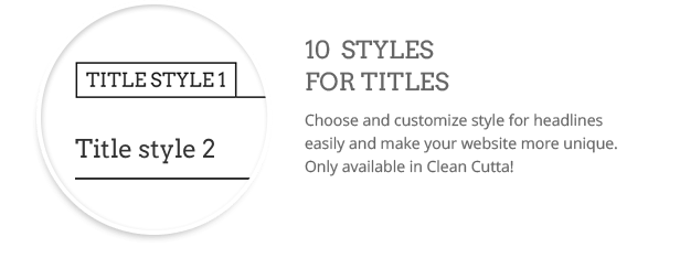 Title styles  Download Clean WordPress Theme (Multi-Purpose) nulled title styles