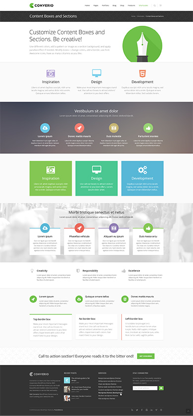 Premium WP Theme screen 2