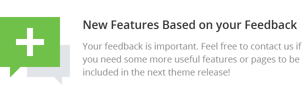 New Features Based on your Feedback